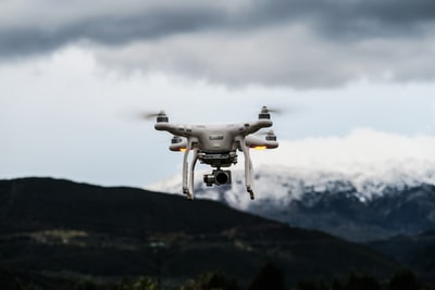 How to take a drone photo without having to walk down the runway